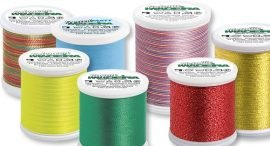 Machine Embroidery & Quilting Threads